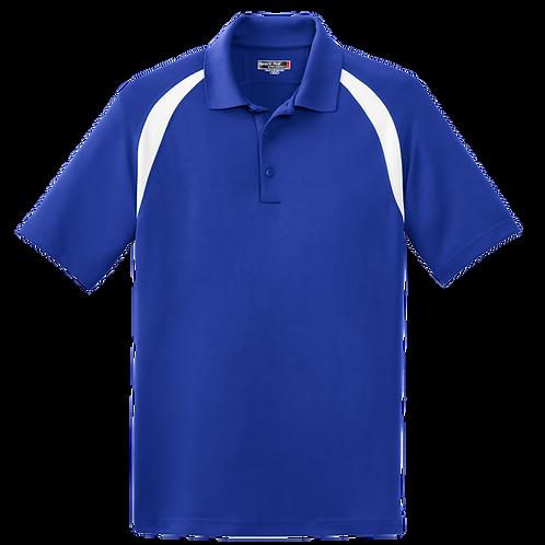 T476 Sport-Tek® Dry Zone® Colorblock Raglan Polo