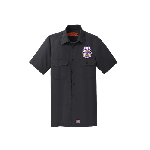 SY60  Red Kap® Short Sleeve Solid Ripstop Shirt_Reno