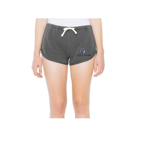 American Apparel - Women's French Terry Washed Navy Short - TF304W