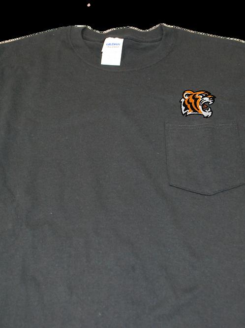 Black Adult Long Sleeve T-Shirt - Large