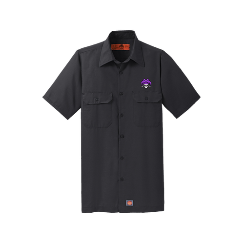 SY60 Red Kap® Jester  -Short Sleeve Solid Ripstop Shirt