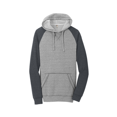 DT196 District ® Lightweight Fleece Raglan Hoodie