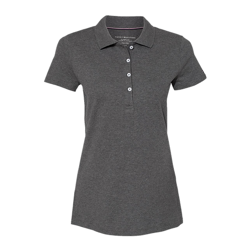 41013 Tommy Hilfiger - Women's Classic Fit Ivy Pique Sport Shirt