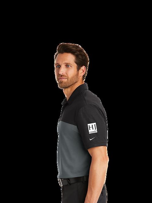 881655 Nike Dri-FIT Colorblock Micro Pique Polo