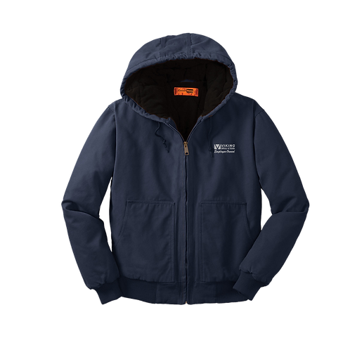 CSJ41 CornerStone® Washed Duck Cloth Insulated Hooded Work Jacket