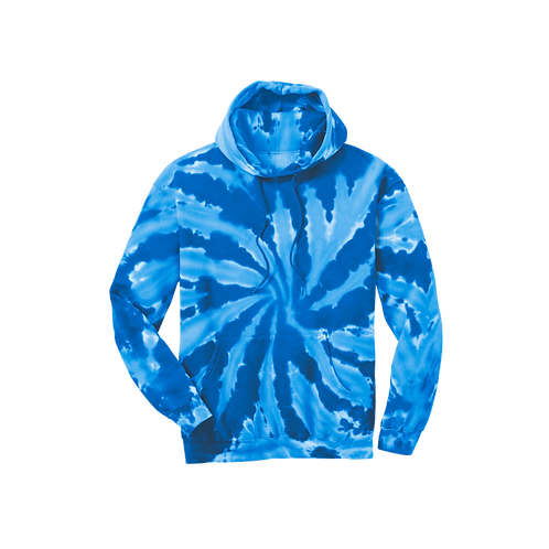 PC146 Port & Company® Tie-Dye Pullover Hooded Sweatshirt