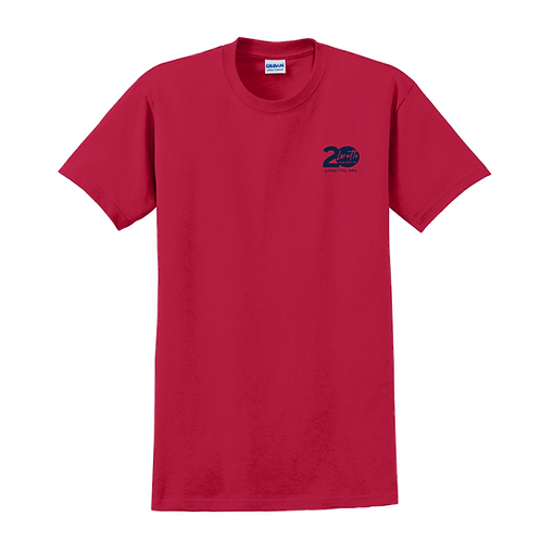 2000Gildan® - Ultra Cotton® 100% Cotton T-Shirt - Cherry Red
