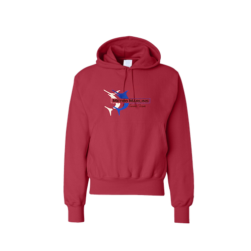 Champion Hooded Pullover Sweatshirt - S101