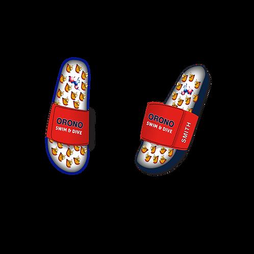 Orono Slide In Velcro Sandal
