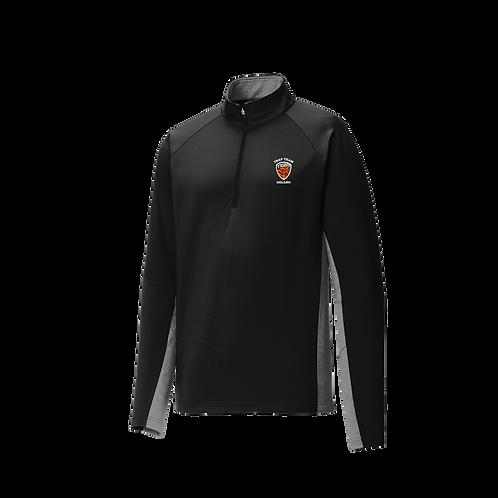 ST854  Sport-Tek® Sport-Wick® Stretch Contrast 1/2-Zip Pullover