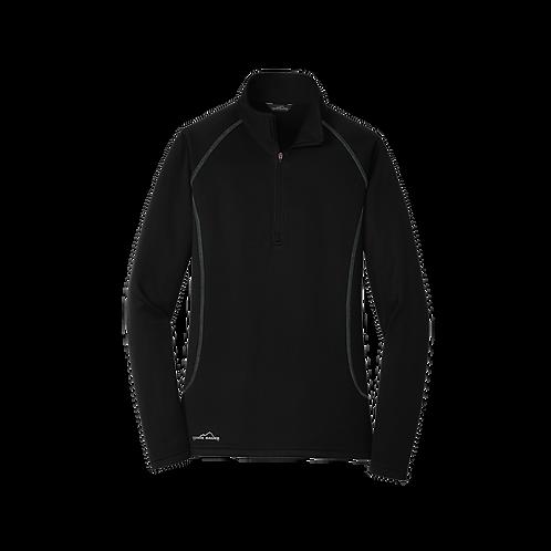 EB237  Eddie Bauer® Ladies Smooth Fleece Base Layer 1/2-Zip