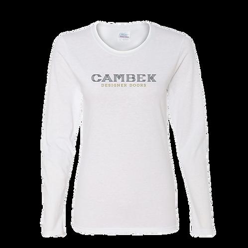 5400L  Gildan® Ladies Heavy Cotton™ 100% Cotton Long Sleeve T-Shirt