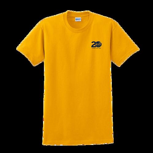 2000Gildan® - Ultra Cotton® 100% Cotton T-Shirt - Gold