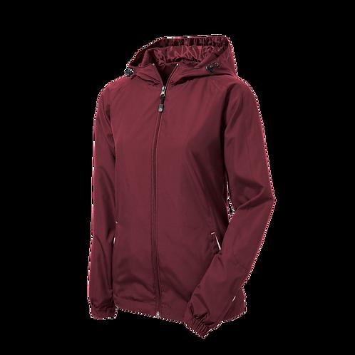 LST76 Sport-Tek® Ladies Colorblock Hooded Raglan Jacket
