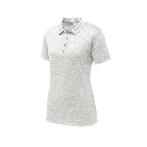 LST590  Sport-Tek® Ladies PosiCharge® Electric Heather Polo