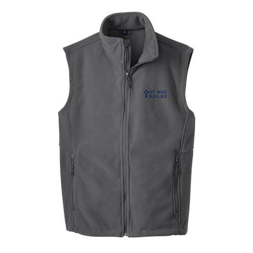 F219 Embroidered Mens Port Authority® Value Fleece Vest