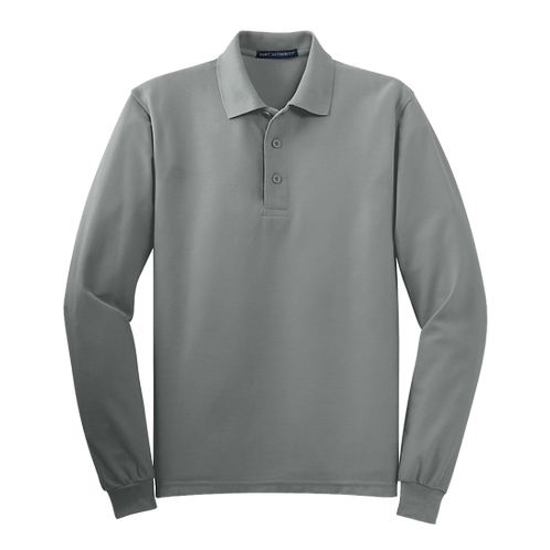 K500LS Port Authority® Silk Touch™ Long Sleeve Polo