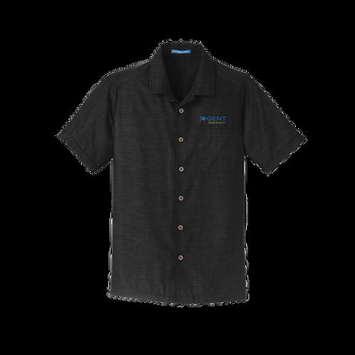 S662 Port Authority® Textured Camp Shirt