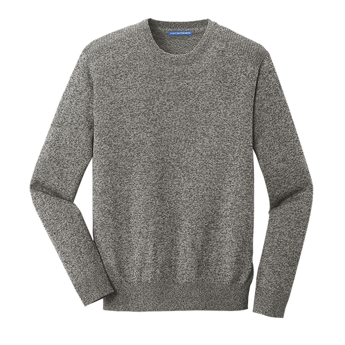 SW417 Port Authority ® Marled Crew Sweater
