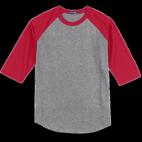 T200 Sport-Tek® Colorblock Raglan Jersey