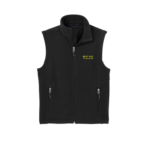 Y219 Embroidered Youth Port Authority® Youth Value Fleece Vest