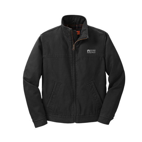 CSJ40 CornerStone® Washed Duck Cloth Flannel-Lined Work Jacket