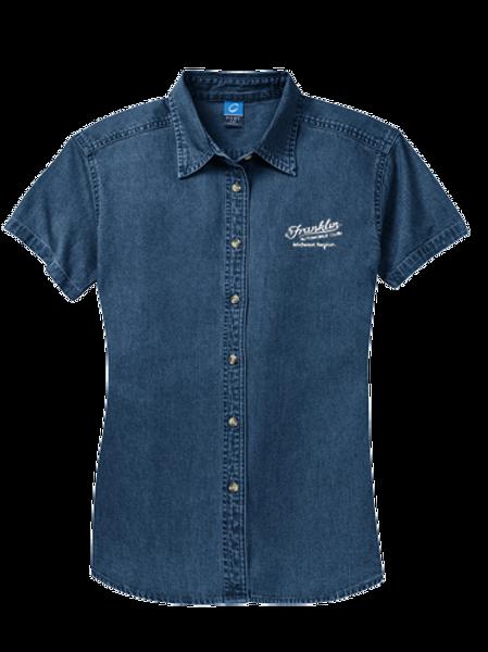 Port & Company® - Ladies Short Sleeve Value Denim Shirt