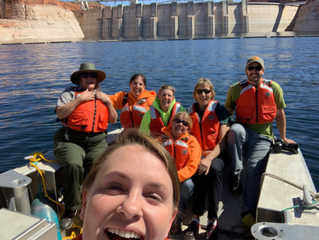 MD Collaborates with the National Park Service at Glen Canyon National Recreational Area!
