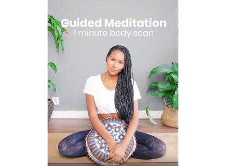 1 Minute Body Scan Meditation