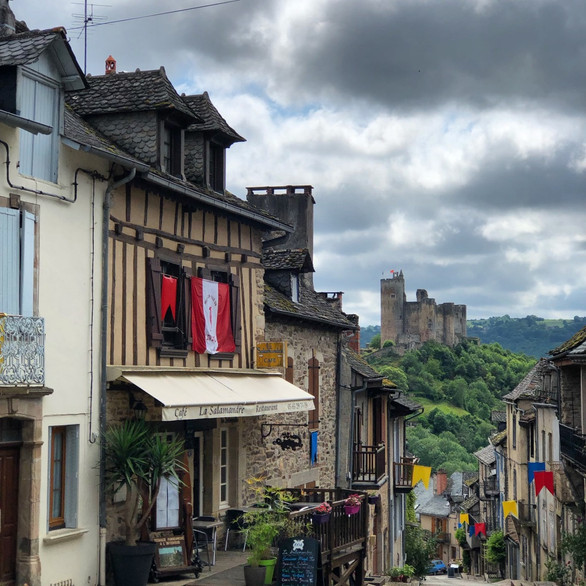 Village and castle of Najac