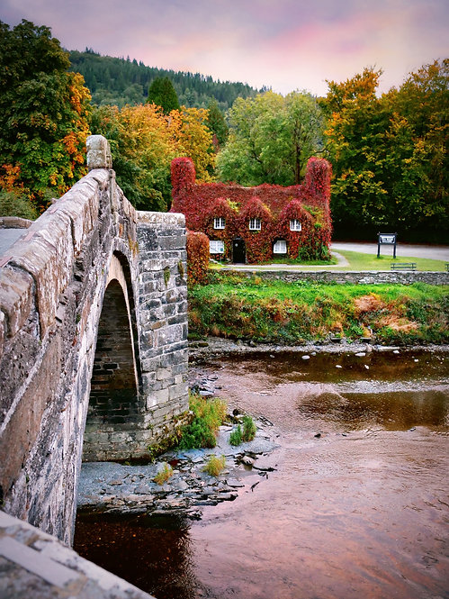 Autumn in Wales ~Wooden Jigsaw Puzzle, A3 size , 285 pieces