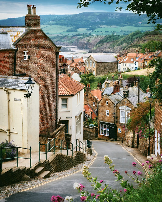 Robin Hood's  Bay ~Jigsaw Puzzle,A3 size , 285 pieces