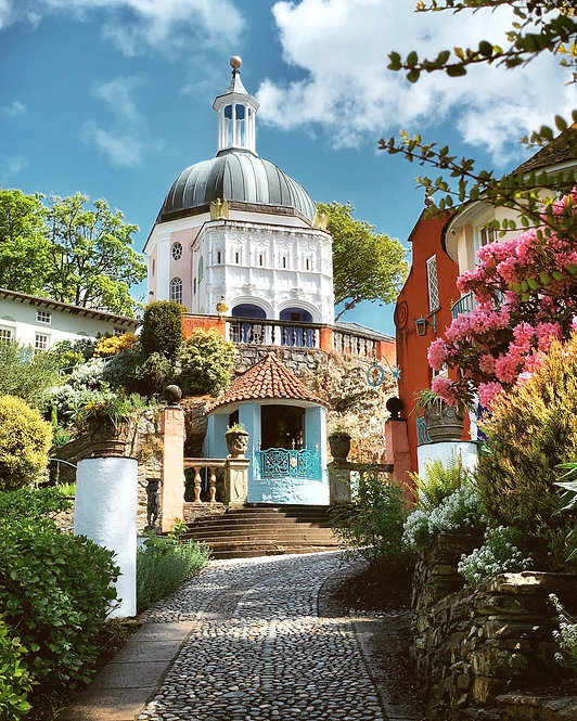 Portmeirion ~Wales ~Wooden Jigsaw Puzzle, A3 size , 285 pieces