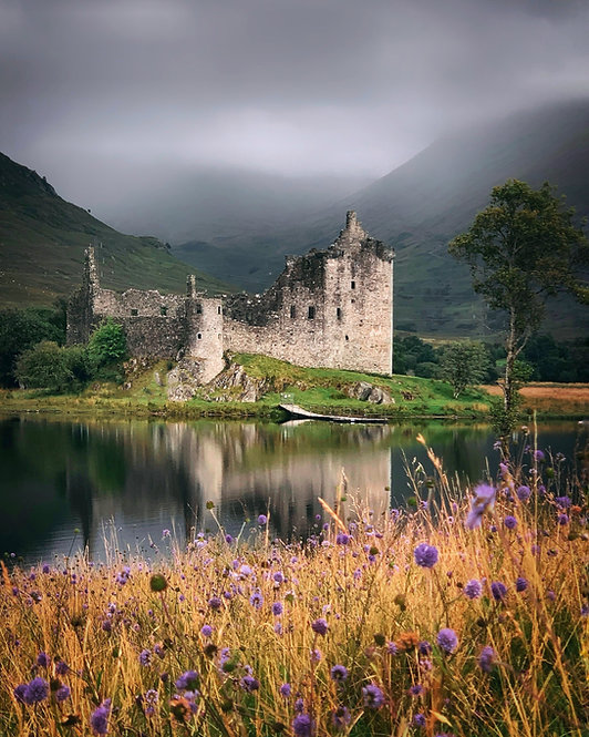 Kilchurn Castle~ ( Scotland)~Wooden Jigsaw Puzzle, A3 size , 285 pieces