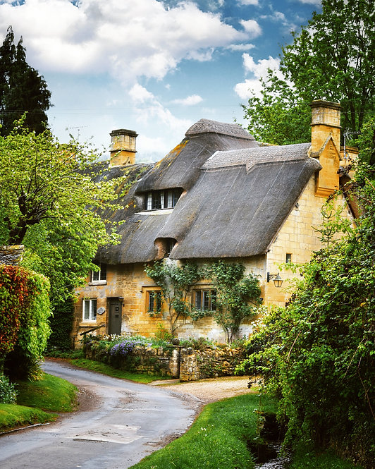 Summer in the Cotswolds ~Wooden Jigsaw Puzzle, A3 size, 285 pieces