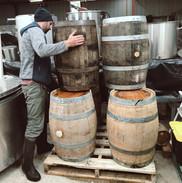 Oak Barrels For Aging Stout