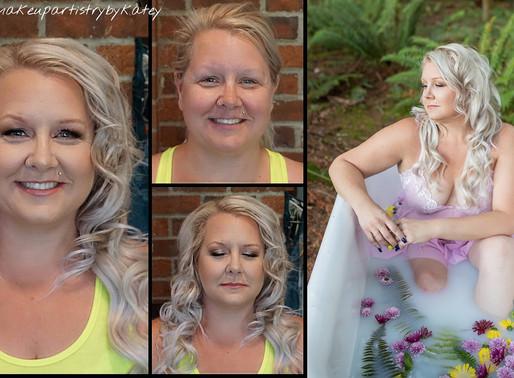 Stunning Make-overs- Seattle Boudoir Photographer