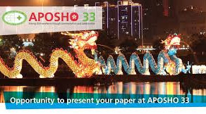APOSHO 33: A Speakers perspective
