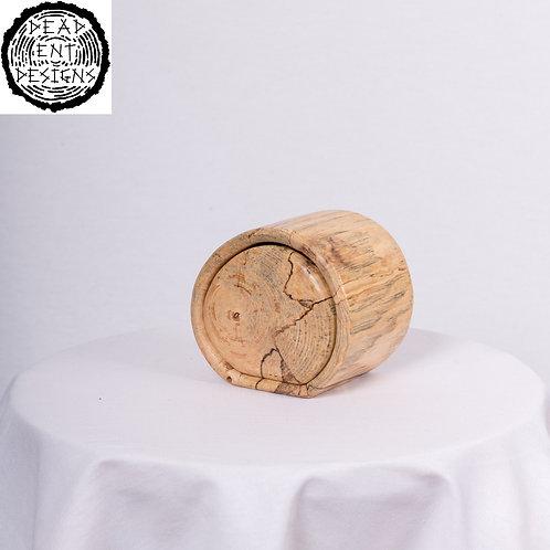 Walnut Log Box