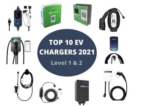 TOP 1O EV CHARGERS 2021
