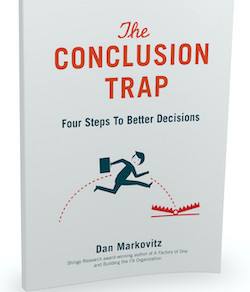 The Conclusion Trap - excerpt