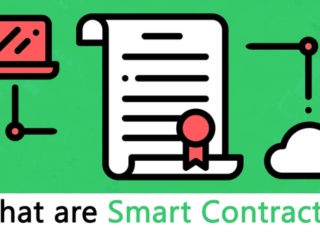 No-Code blockchain smart contracts