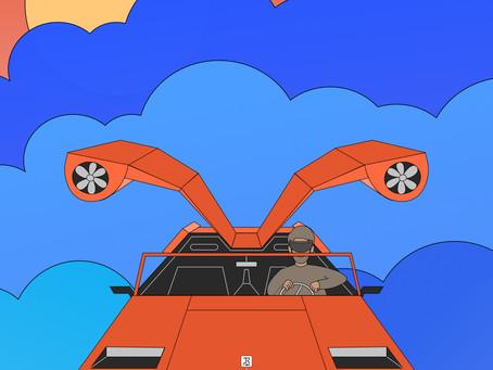 It's a beast, it's a bird! It's a car with wings!