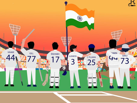 Bruised But Not Battered - A Fearless Indian Cricket Team