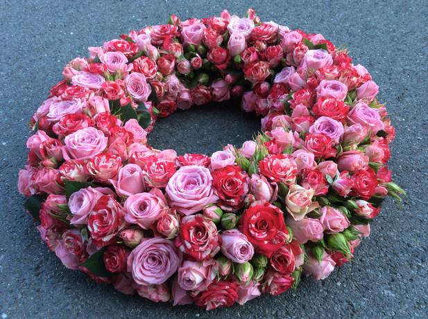 Trauerkranz Rose