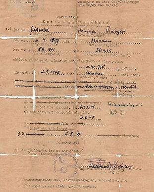 Himmler identity passs