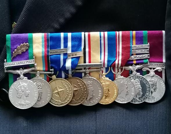Cold War Warrior Medals
