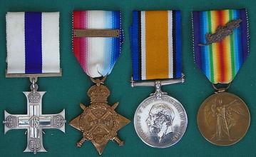 Gabain MC Medals.JPG