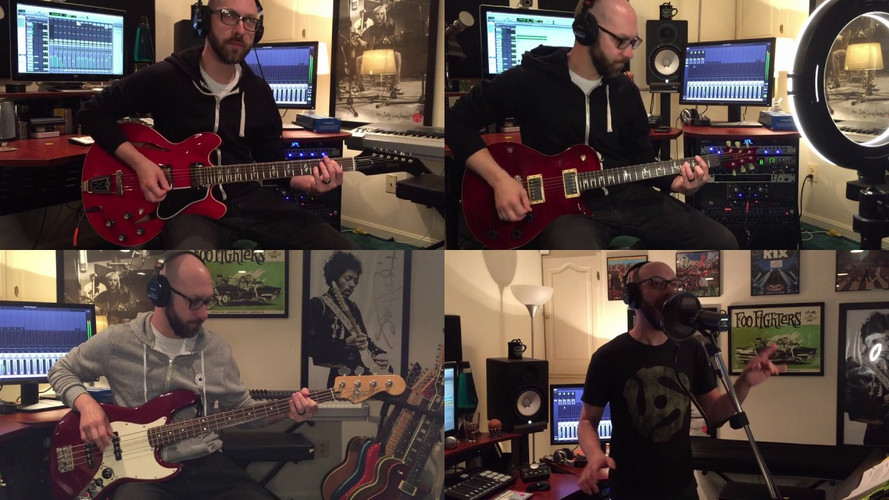 Foo Fighters quaratine cover