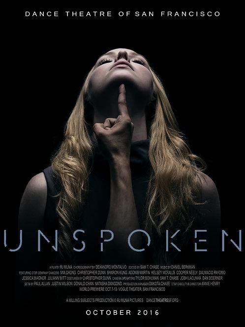 Unspoken DVD